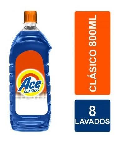 Ace Clasico Baja Espuma Liquido 800 Ccbot.plast