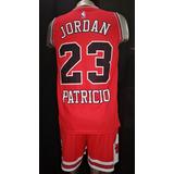 Equipo Chicago Bulls Basket Personalizado