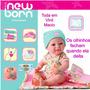 Boneca Baby Nenenzinha Alive Divertoys Recém Nascida Original