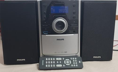 Excelente Equipo De Música Philips   Micro System Mcm 166