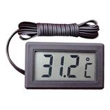 Termometro Digital Con Sensor Por Cable A Distancia ®