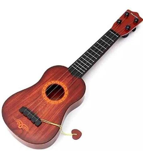 Guitarra De Rock Para Niños 60x20cm De Juguete