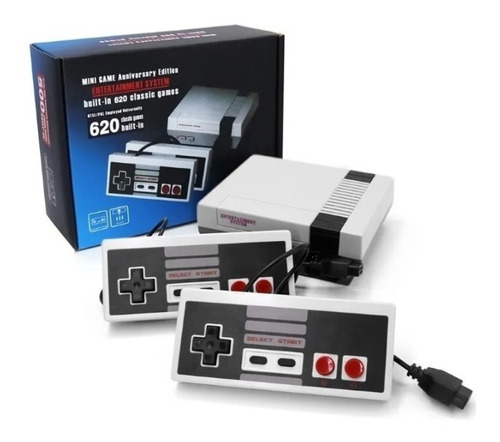 Consola Mini Nes Tipo Nintendo Family 8 Bit 620 Juegos Retro