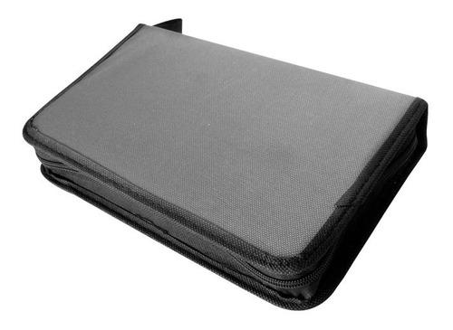 Estuche Organizador Porta Discos Capacidad 96cd/dvd