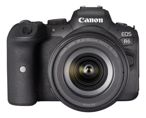 Cámara Canon Eos R6 Con Lente Rf 24-105mm F4-7.1 Is Stm
