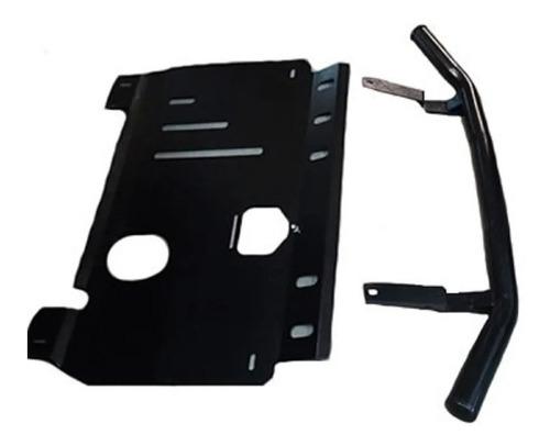 Defensa Baja Ford Ecosport Kinetic Negra C/cubrecarter