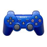 Joystick Inalámbrico Sony Dualshock 3 Metallic Blue