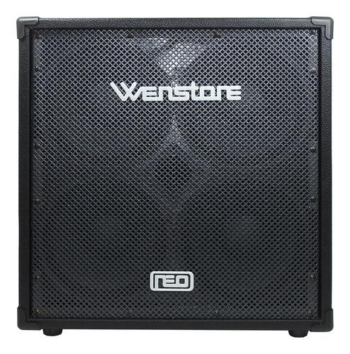 Caja Bafle Para Bajo Wenstone B410 Neo 500 W 4x10 8ohms