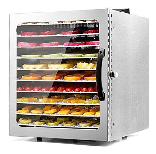 Maquina Deshidratadora De Alimentos Moongiantgo 10 Bandejas