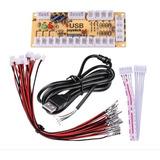 Arcade Usb Zero Delay + Cable A Elección Pin 2.4mm O 4.8mm
