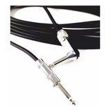 Cable Para Guitarra 6 M 6,3mm Jumbo A 6,3mm Jumbo L 080-879