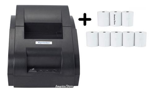 Combo Impresora Pos Térmica Tickets 58mm Xprinter + 8 Rollos