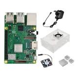 Kit Raspberry Pi 3 B + Plus Uk Gab Dis Fan Fuente Emakers