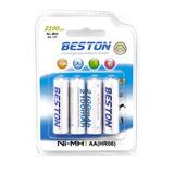 Bateria Pila Recargable Aa X 4  Beston
