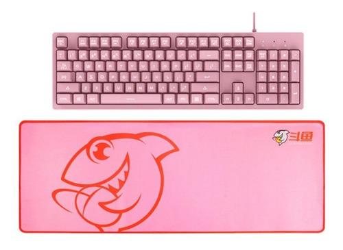 Mouse Pad Gamer Xl Antideslizante - Negro O Rosa - Ajazz