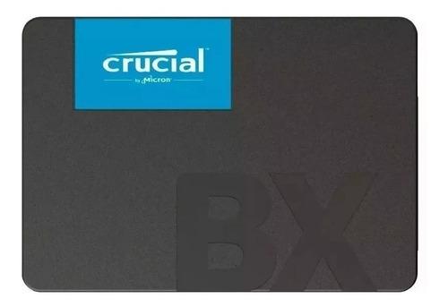 Disco Sólido Ssd Crucial Bx500 240gb Sata 6.0gb 500mb/s
