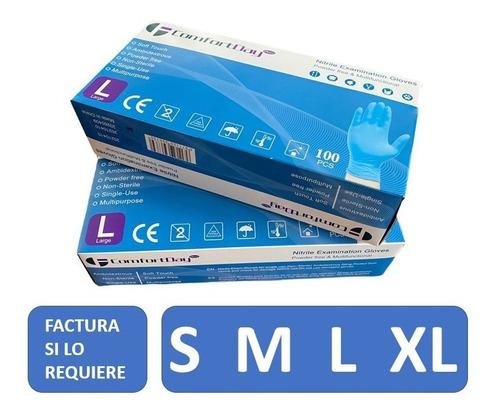 Guante Nitrilo Tallas M, L, Xl - 100% Nitrilo - Certificado