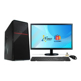 Computador Completo  Intel I3 4gb Ddr3 Hd 500 Gb Monitor 19