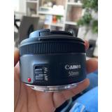 Lente De Camara Pro Canon 50 Mm