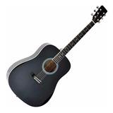 Guitarra Acústica Ranger R-4100-eq-bk Folk Dradnought