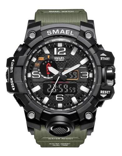 Reloj Militar Smael S-shock Tactico Alarma Sumergible