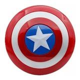 Escudo De Capitán América 45cm Doble Agarre Interior