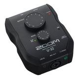 Interface De Audio Zoom U-22 100v/240v