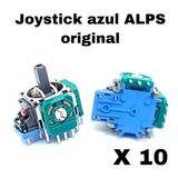 10 Joystick Potenciómetro Ps4 Alps Nuevos Original Azul