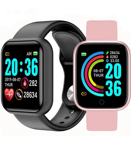 Reloj Inteligente Smartwatch Bluetooth Sensor Pulso Cardiaco