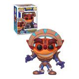 Funko Pop! Crash Bandicoot In Mask Armor 2021 Summer Conv