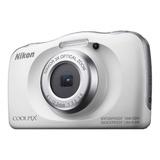 Nikon Coolpix W150 Compacta Color  Blanco