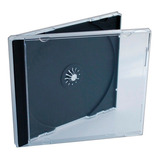Caja Acrilica Cajas Para Cd Tray Transparente  X10 Unidades