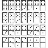 Kit De Piezas Varias De Domino Grandes Y Pequeñas Usado