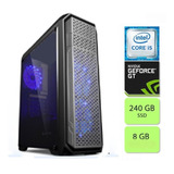 Cpu Pc Gamer Intel I5  24008gb  Ssd 240gb Geforce Gt610 2gb
