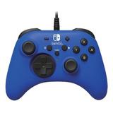 Control Joystick Hori For Nintendo Switch  Azul