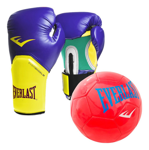 Guantes Boxeo Everlast Pro Style Elite Profesional - El Rey