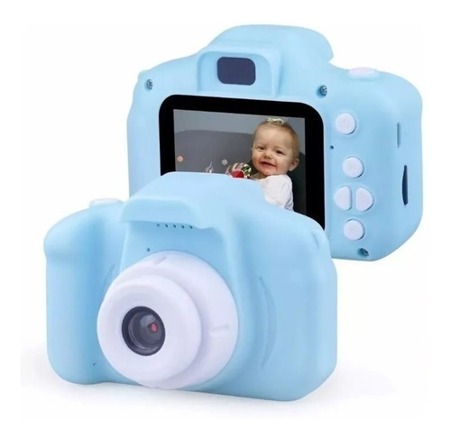 Mini Cámara Fotográfica Digital Para Niños / Master Prox