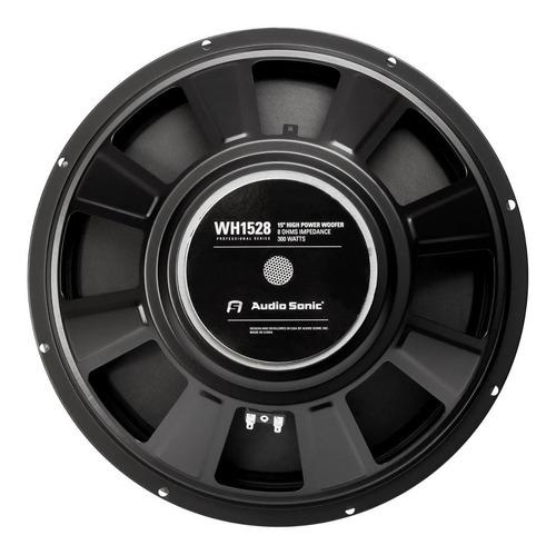 Parlante 15 Audiosonic 300w 8hz Bobina 50mm Profesional Cjf