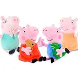 Peluches Familia Peppa Pig Completa  24cm