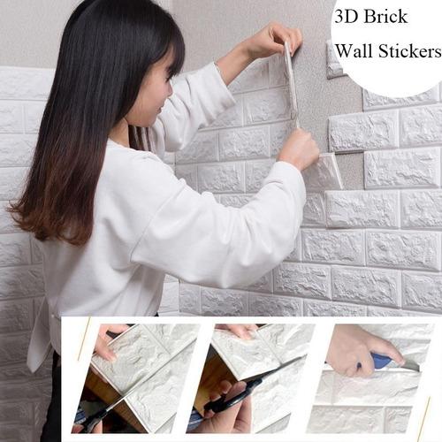 Revestimiento Para Pared Tapiz 3d Adhesivo Vinilo Decorativo