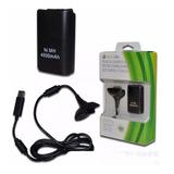 Xbox 360 Kit Carga Y Juega + 4800 Ni-mh