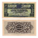 Billete De Mozambique 20 Centavos 1933 Numismatic Collection