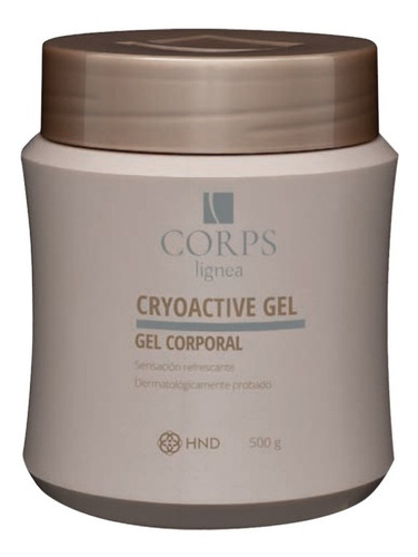 Gel Cryoactive Corps Reductor De Medidas Hinode Brasil