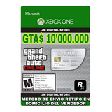Gta V Online Dinero 10.000.000 Xbox One + 30.000 De Rp