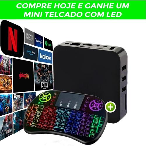 Tv Box Pronta Entrega Frete Grátis + Mini Teclado Brinde