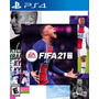 Jogo Fifa 21 Ps4/ps5 Português Midia Física Playstation Original