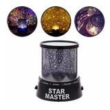 Lampara Velador Infantil Proyector Estrellas Star Master