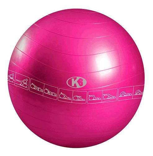 Pelota Para Pilates Y Yoga 65 Cm Con Bomba K6