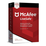 Antivirus Mcafee Livesafe 2020 Unlimited Devices 1 Año Codig