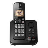 Teléfono Inalámbrico Panasonic Kx-tgc360 Negro